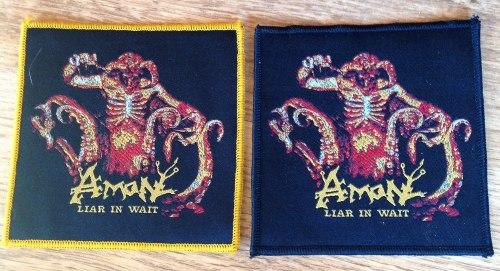 AMON - Liar in Wait Нашивка Death Metal