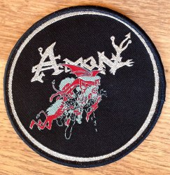 AMON - Sacrificial Suicide Нашивка Death Metal