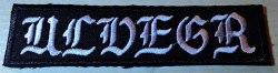 ULVEGR - Logo Нашивка Blackened Metal