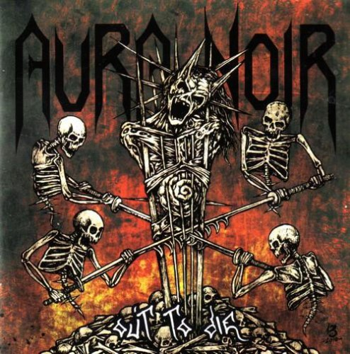 AURA NOIR - Out to Die CD Black Thrash Metal