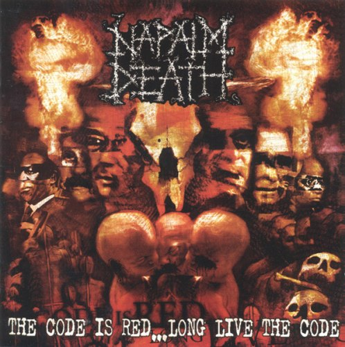 NAPALM DEATH - The Code Is Red... Long Live The Code CD Grindcore