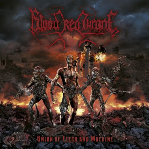 BLOOD RED THRONE - Union Of Flesh And Machine CD Death Metal