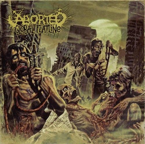 ABORTED - Global Flatline CD Brutal Death Metal