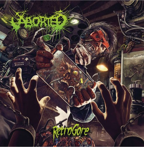 ABORTED - Retrogore CD Brutal Death Metal