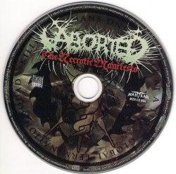ABORTED - The Necrotic Manifesto CD Brutal Death Metal