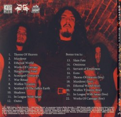 KRISIUN - Works of Carnage Digi-CD Death Metal