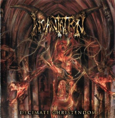 INCANTATION - Decimate Christendom CD Death Metal