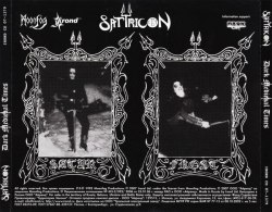 SATYRICON - Dark Medieval Times CD Black Metal