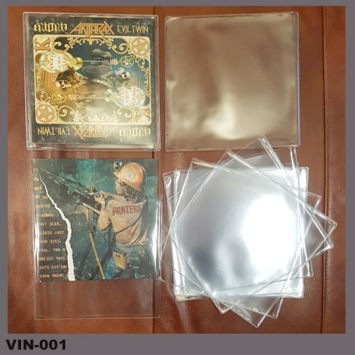 Пакет ПВХ для 7-дюймового сингла Аксессуар