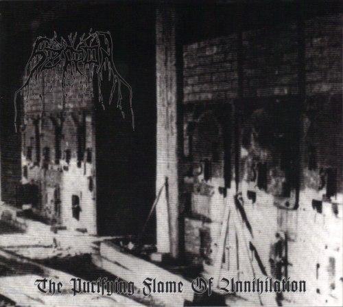 SZRON - The Purifying Flame Of Annihilation Digi-CD Black Metal