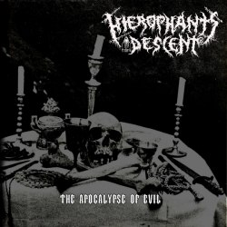 "HIEROPHANT'S DESCENT - The Apocalypse Of Evil 7""EP Black Metal"