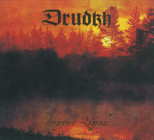 DRUDKH - Forgotten Legends CD Atmospheric Metal