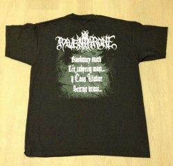RAVEN THRONE - Biaskoncy snieh Času - XXL Майка Atmospheric Heathen Metal