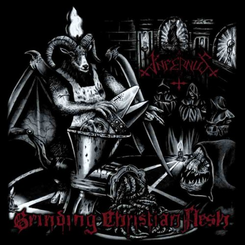 INFERNUS - Grinding Christian Flesh CD Black Thrash Metal