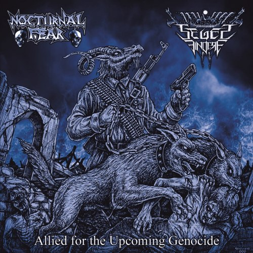 NOCTURNAL FEAR / SEGES FINDERE - Allied for the Upcoming Genocide CD Thrash Metal