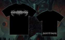 EXIMPERITUSERQETHHZEBIBSIPTUGAKKATHSULWELIARZAXULUM - White Logo - L Майка Technical Brutal Death Metal