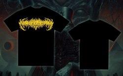 EXIMPERITUSERQETHHZEBIBSIPTUGAKKATHSULWELIARZAXULUM - Yellow Logo - XL Майка Technical Brutal Death Metal