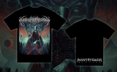 EXIMPERITUSERQETHHZEBIBSIPTUGAKKATHSULWELIARZAXULUM - Album cover - S Майка Technical Brutal Death Metal