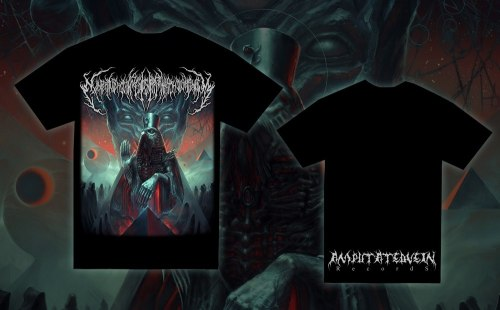 EXIMPERITUSERQETHHZEBIBSIPTUGAKKATHSULWELIARZAXULUM - Album cover - M Майка Technical Brutal Death Metal