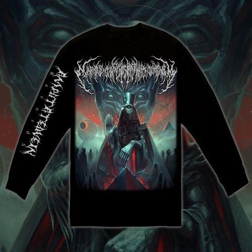 EXIMPERITUSERQETHHZEBIBSIPTUGAKKATHSULWELIARZAXULUM - Longsleeve - M Кофта Technical Brutal Death Metal