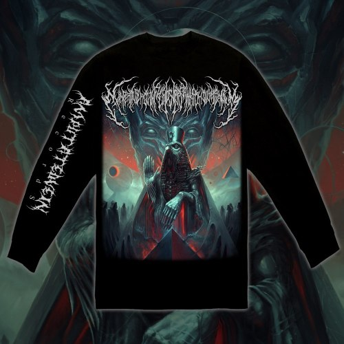 EXIMPERITUSERQETHHZEBIBSIPTUGAKKATHSULWELIARZAXULUM - Longsleeve - L Кофта Technical Brutal Death Metal