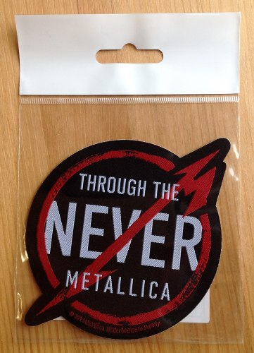 METALLICA - Through the Never Нашивка Thrash Heavy Metal