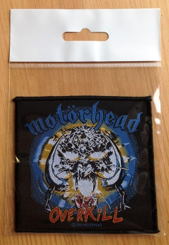 MOTORHEAD - Overkill Нашивка Rock'n'Roll