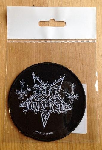DARK FUNERAL - Logo Нашивка Black Metal