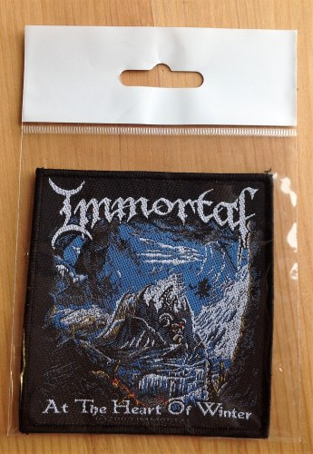 IMMORTAL - At The Heart Of Winter Нашивка Nordic Metal