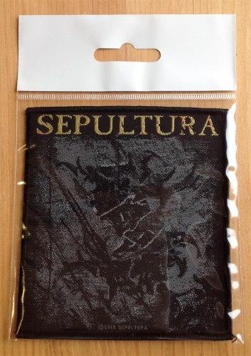 SEPULTURA - Logo Нашивка Groove Metal