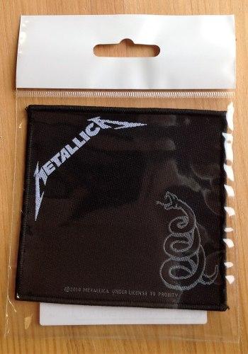 METALLICA - Metallica Нашивка Thrash Heavy Metal