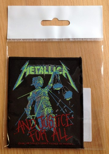 METALLICA - ...and justice for all Нашивка Thrash Heavy Metal