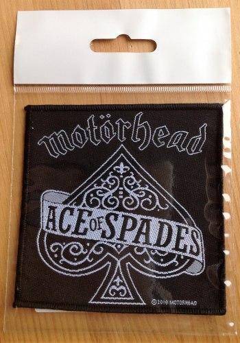 MOTORHEAD - Ace of Spades Нашивка Rock'n'Roll