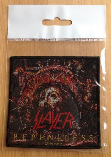 SLAYER - Repentless Нашивка Thrash Metal