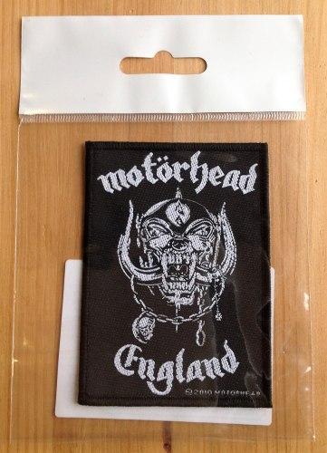 MOTORHEAD - England Нашивка Rock'n'Roll