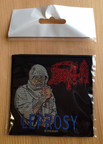 DEATH - Leprosy Нашивка Death Metal