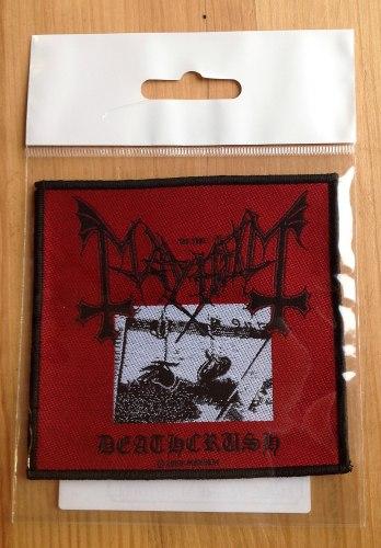 MAYHEM - Deathcrush Нашивка Black Metal