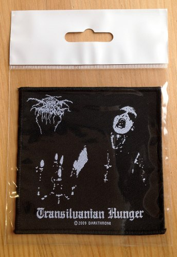 DARKTHRONE - Transilvanian Hunger Нашивка Black Metal