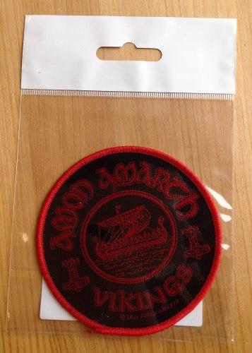 AMON AMARTH - Vikings Нашивка MDM