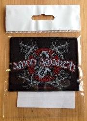 AMON AMARTH - Logo Нашивка MDM