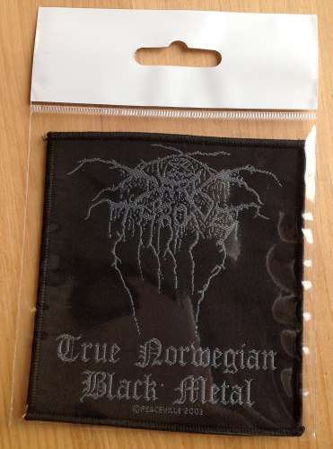 DARKTHRONE - True Norwegian Black Metal Нашивка Black Metal