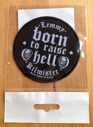LEMMY KILLMISTER - Born to Raise Hell Нашивка Rock'n'Roll