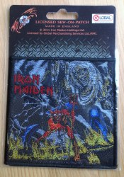 IRON MAIDEN - The Number of the Beast Нашивка Heavy Metal