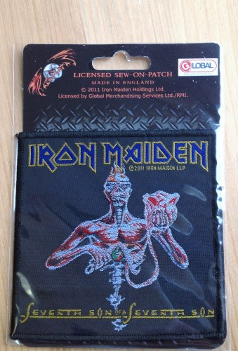 IRON MAIDEN - Seventh Son of the Seventh Son Нашивка Heavy Metal