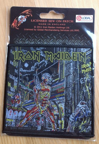 IRON MAIDEN - Somewhere in Time Нашивка Heavy Metal