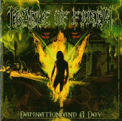 CRADLE OF FILTH - Damnation And A Day CD Symphonic Metal