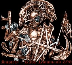 IMPIETY - Kaos Kommand 696 Gatefold LP Black Metal
