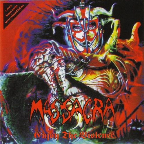 MASSACRA - Enjoy The Violence CD Death Trash Metal