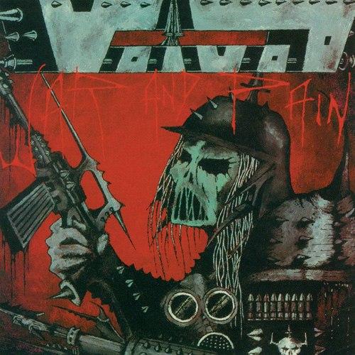 VOIVOD - War and Pain CD Progressive Thrash Metal