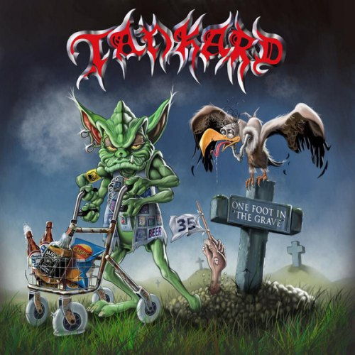 TANKARD - One Foot In The Grave Digi-2CD Thrash Metal